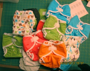 Stofbleer fra Thirsties; Thirsties DUO diaper, Thirsties DIO AIO og Thirsties DUO wrap
