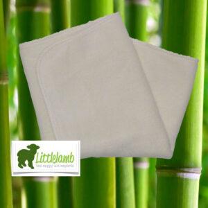 Bambus prefold til stofbleer fra Little Lamb
