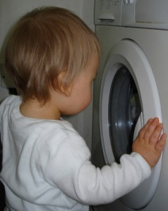 Vask af stofbleer
