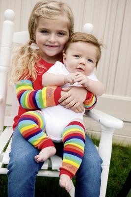 Babylegs benvarmere hos Ko og Ko