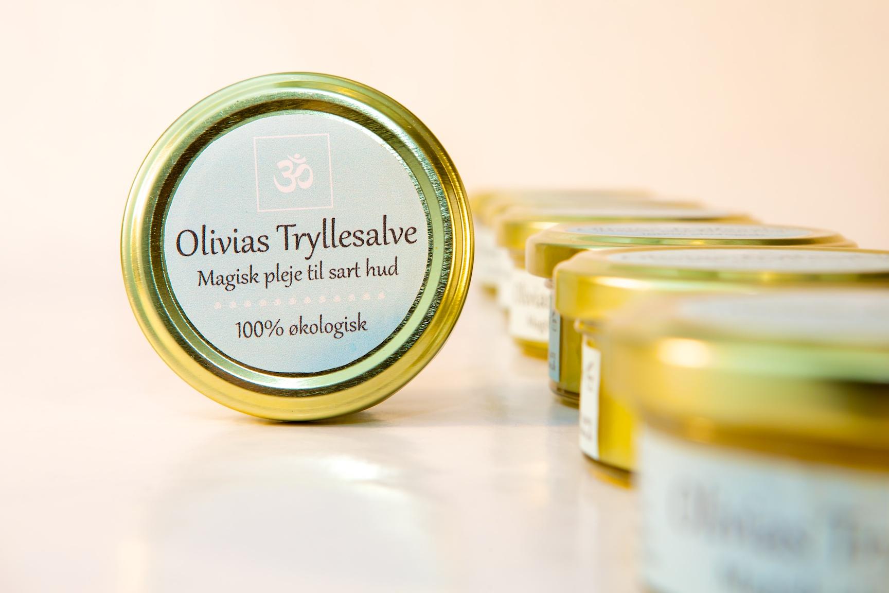 Olivias tryllesalve - den perfekte univetsalsalve til slidt og sprukken hud!